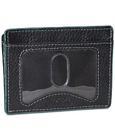 Buxton Men's Leather Front-Pocket Wallet
