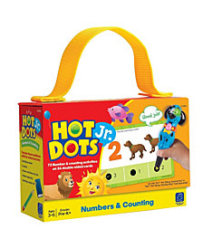 Educational Insights Hot Dots Jr Numbers And Counting Card Set