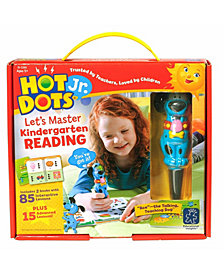 Educational Insights Hot Dots Jr Let's Master Kindergarten Reading Set With Ace Pen