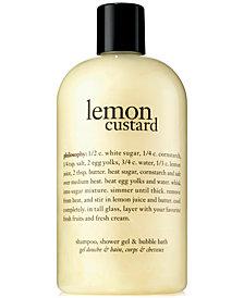 Philosophy Lemon Custard Shower Gel, 16 oz