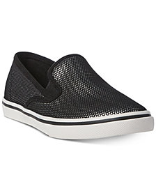 Lauren Ralph Lauren Janis Slip-On Mesh Sneakers