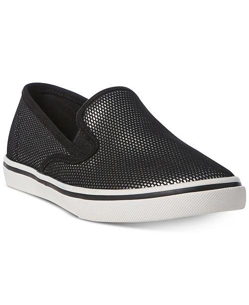 Lauren Ralph Lauren Janis Slip-On Mesh Sneakers