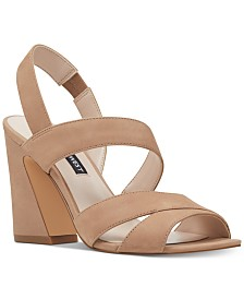 Nine West Nohemi Flare Heel Sandals