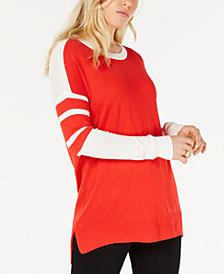 Hippie Rose Juniors' Motoblock Sweater