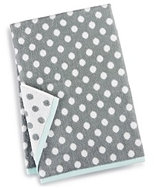 "30"" x 54"" Cotton Dot Spa Fashion Bath Towel, Created for Macy's"
