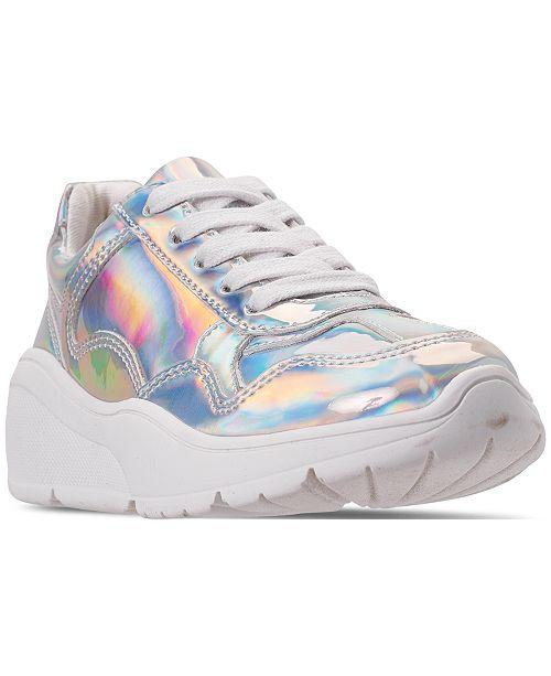 c2fe3b56dc4 Steve Madden Little Girls' JMEMORY Casual Sneakers from Finish ...