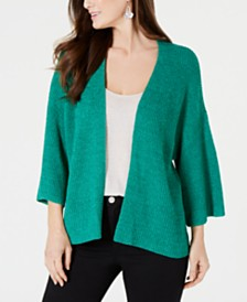 Style & Co Draped Kimono-Sleeve Cardigan, Created for Macy's