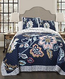 Aster 3-Piece Full/Queen Quilt Set