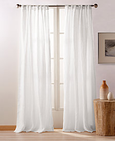 "DKNY PURE City Linen 84"" Backtab Window Panels, Set of 2"