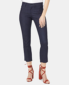 NYDJ Marilyn Cropped Straight-Leg Jeans