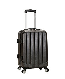 """Rockland Melbourne 20"""" Expandable ABS Carry-On"""