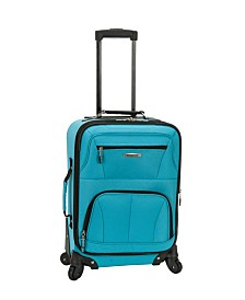 "Rockland Pasadena 19"" Expandable Spinner Carry On"