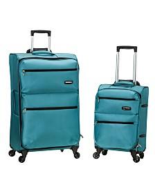 Rockland Gravity 2PCE Softside Luggage Set