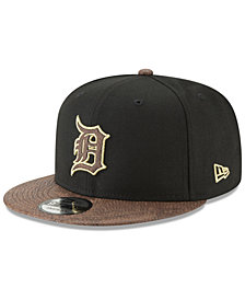 New Era Detroit Tigers Gold Snake 9FIFTY Snapback Cap