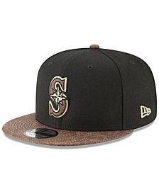 New Era Seattle Mariners Gold Snake 9FIFTY Snapback Cap