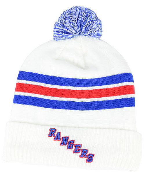 441232803e8 coupon code new york rangers alternate jersey cuffed pom knit hat c2396  61f14