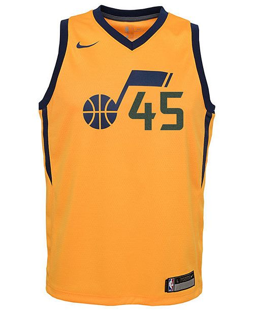 low cost be7c4 27a80 Donovan Mitchell Utah Jazz Statement Swingman Jersey, Big Boys (8-20)