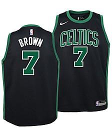 Jaylen Brown Boston Celtics Statement Swingman Jersey, Big Boys (8-20)