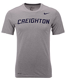 Nike Men's Creighton Blue Jays Dri-Fit Legend Wordmark T-Shirt