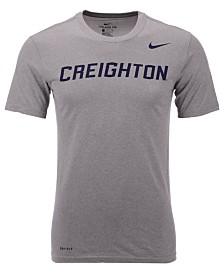 Nike Men's Creighton Blue Jays Dri-Fit Legend Wordmark T-Shirt
