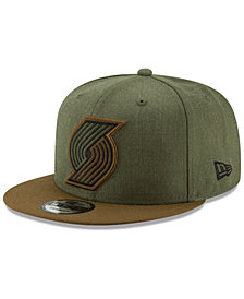 New Era Portland Trail Blazers Enlisted 9FIFTY Snapback Cap