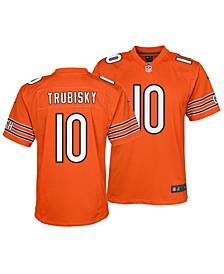 Mitchell Trubisky Chicago Bears Game Jersey, Big Boys (8-20)