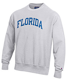 Champion Men's Florida Gators Reverse Weave Crew Sweatshirt