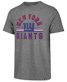 '47 Brand Men's New York Giants Team Stripe Match Tri-blend T-Shirt