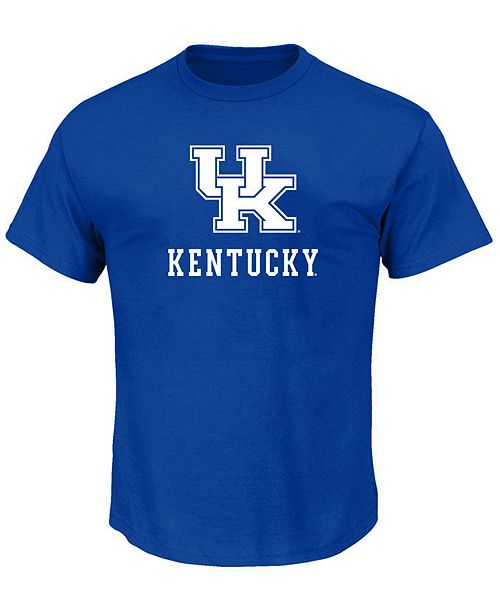 Profile Men's Big & Tall Kentucky Wildcats Big Logo T-Shirt