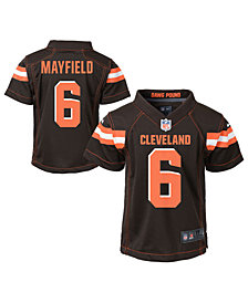 Nike Baker Mayfield Cleveland Browns Game Jersey, Toddler Boys (2T-4T)