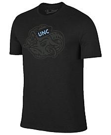 Champion Men's North Carolina Tar Heels Black Out Dual Blend T-Shirt
