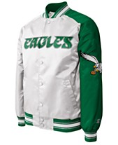 b005230bc G-III Sports Men s Philadelphia Eagles Starter Dugout Championship Satin  Jacket