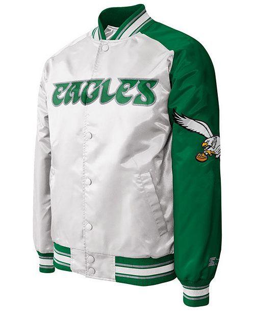 G-III Sports Men s Philadelphia Eagles Starter Dugout Championship Satin  Jacket de3f83550