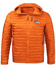 G-III Sports Men's Denver Broncos Equator Player Front Zip Jacket