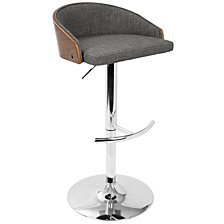 Lumisource Shiraz Adjustable Barstool