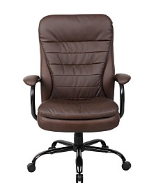 Boss Office Products Diamond Stacking Chair with Arms