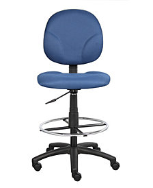 Boss Office Products Deluxe Drafting Stool
