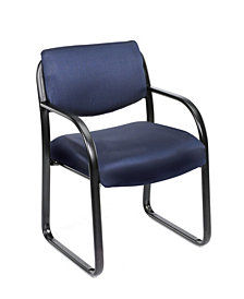 Boss Office Products Steel Frame Guest Chair