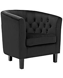 Prospect Velvet Armchair
