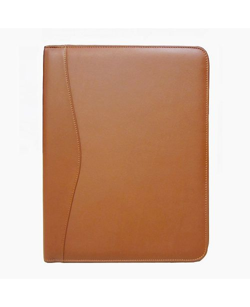 Royce Leather Royce Executive Writing Portfolio Organizer in Genuine Leather