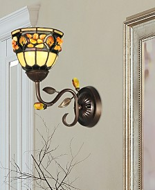 Dale Tiffany Pebble Stone Wall Sconce