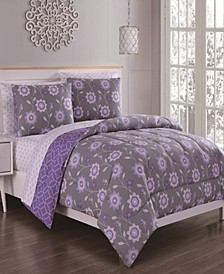 Britt 7-Pc Queen Bed in a Bag