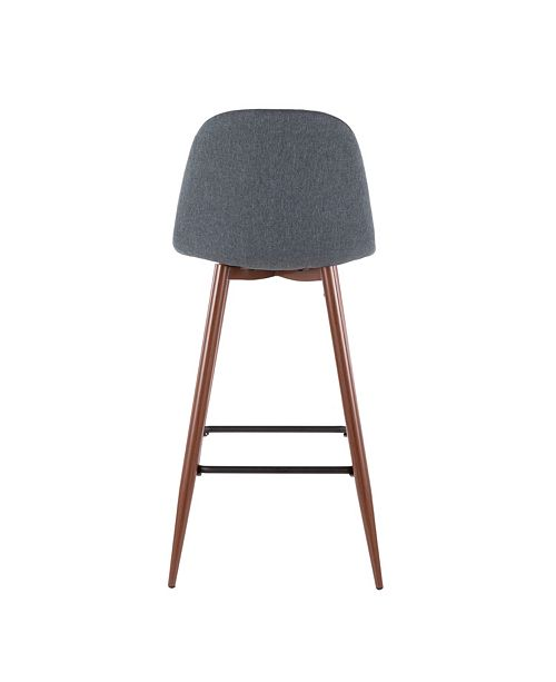 Lumisource Oregon Stackable Barstool Set Of 2 Amp Reviews