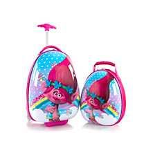 DreamWorks Trolls Egg Shape Luggage with Backpack
