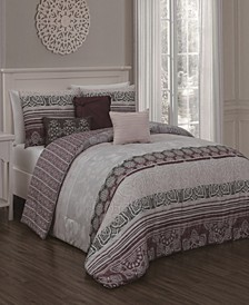Ellisa 7-Pc Queen Comforter Set