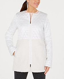Calvin Klein Performance Quilted Fleece Jacket