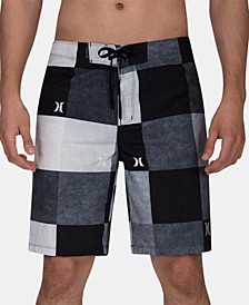 "Men's Phantom Kingsroad Check 20"" Board Shorts"