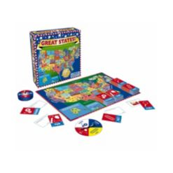 Fundamental Toys Game Zone Great States Board Game