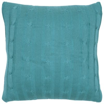 "18"" x 18"" Cable Knit Pillow Cover"