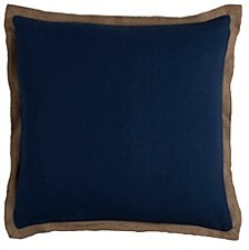 """Solid 22"""" x 22"""" Pillow Cover"""